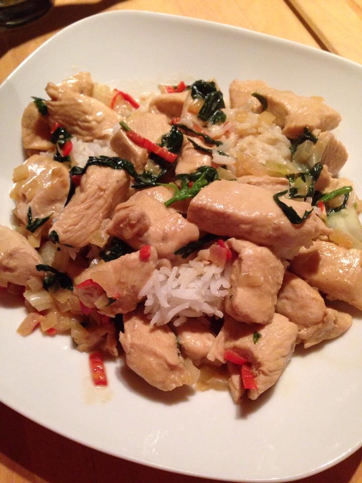 Kokos Basilikum Chicken von D. Brumann