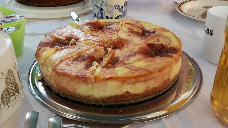 Rhabarber Ingwer Cheesecake von A. Vossen