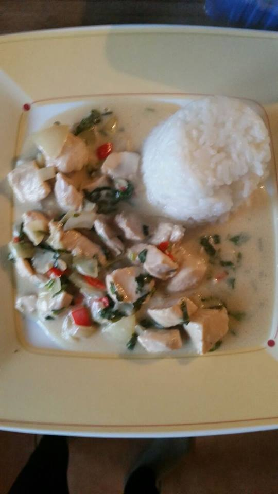Kokos Basilikum Chicken