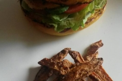 Satayburger von Eddie E. Bruns